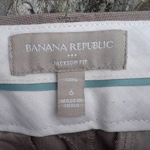 Banana Republic Pants - Banana Republic Jackson fit long dress pant